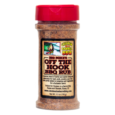 "Big Mike's ""Off the Hook"" BBQ Rub"