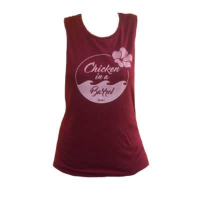 Women's Maroon Tank Top