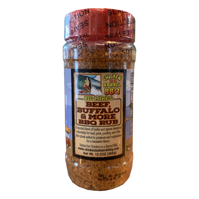 Big Mike's Beef, Buffalo and More BBQ Rub